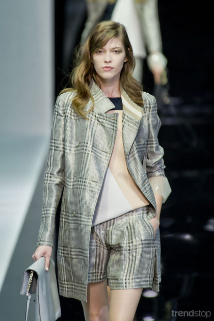 Emporio Armani Milan Spring/Summer 2013
