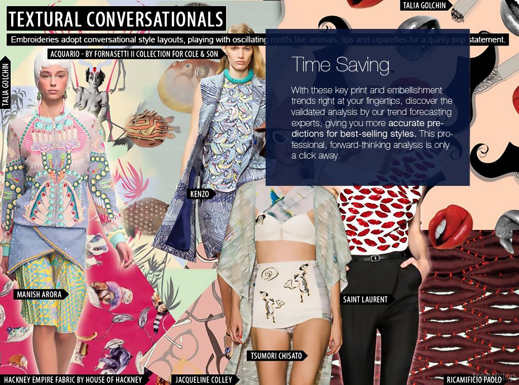 S/S 2016 Print Trend Forecast Womenswear